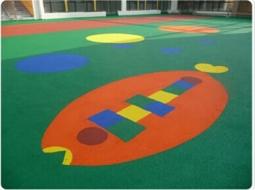幼儿园EPDM塑胶地面