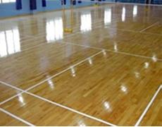 室内体育木地板